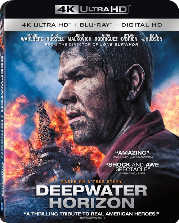 Deepwater Horizon 4K (2016) 4K Ultra HD Blu-ray