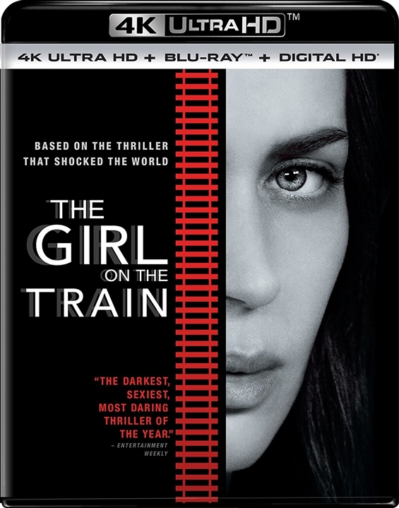 The Girl on the Train 4K (2016) Ultra HD Blu-ray