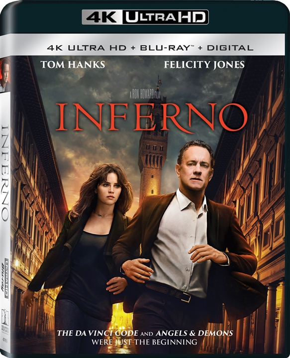 Inferno 4K (2016) Ultra HD Blu-ray