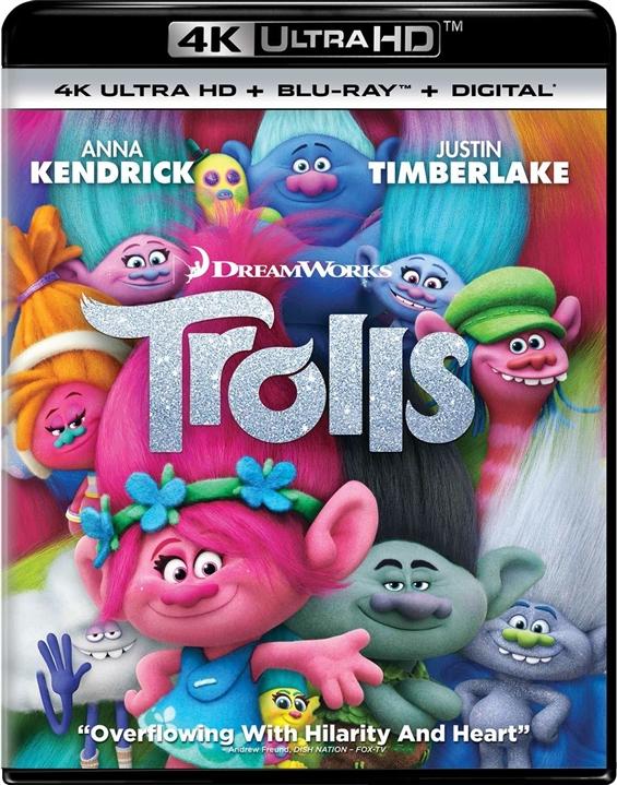 Trolls 4K (2016) Ultra HD Blu-ray