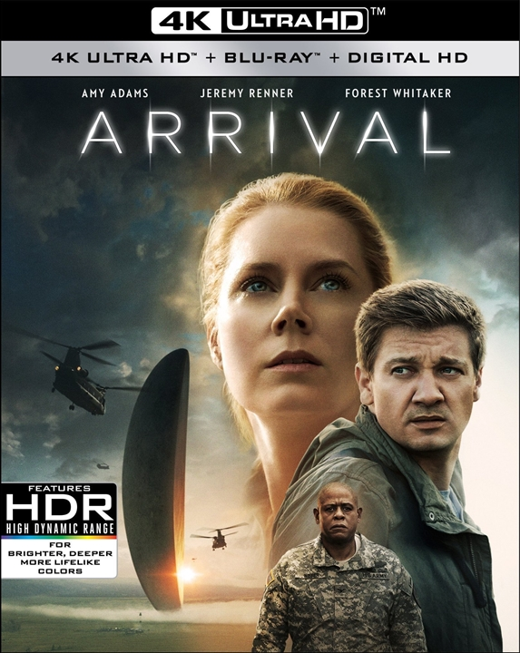 Arrival 4K (2016) Ultra HD Blu-ray