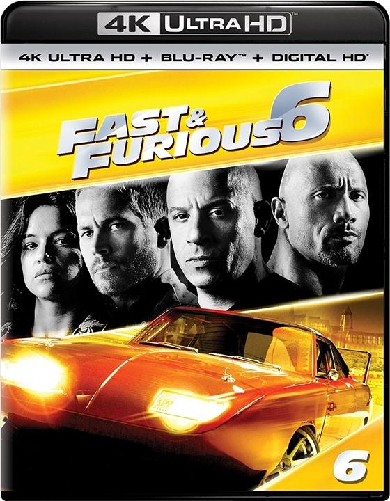 Fast & Furious 6 4K (2013) Ultra HD Blu-ray
