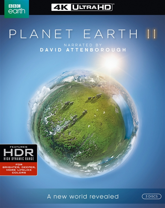 Planet Earth II (TV) (2016) 4K Ultra HD Blu-ray