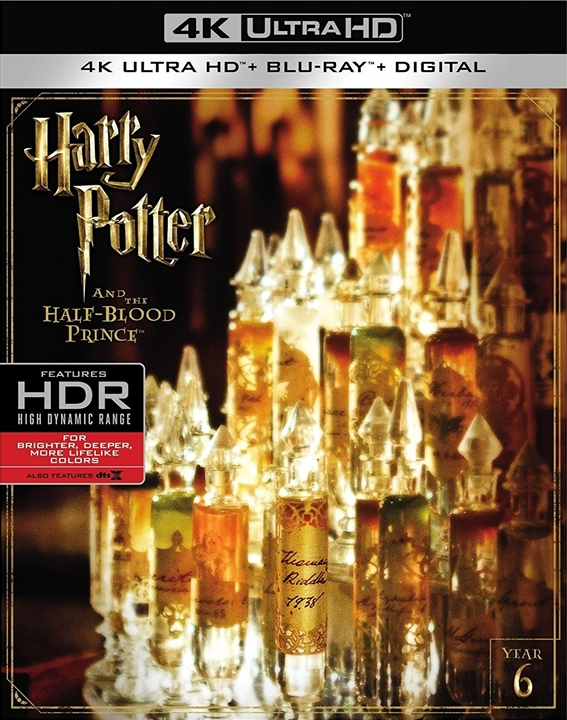 Harry Potter and the Half-Blood Prince 4K (2009) Ultra HD Blu-ray