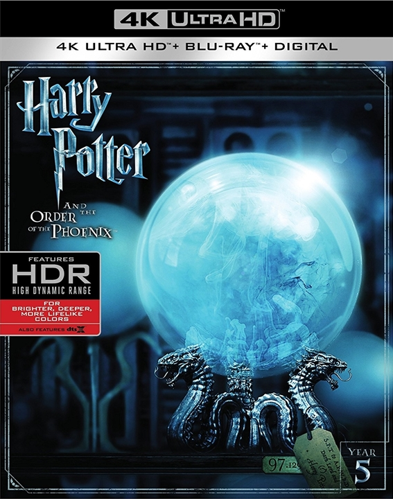 Harry Potter and the Order of the Phoenix 4K (2007) Ultra HD Blu-ray