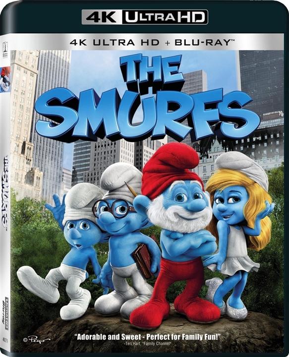 The Smurfs 4K (2011) Ultra HD Blu-ray
