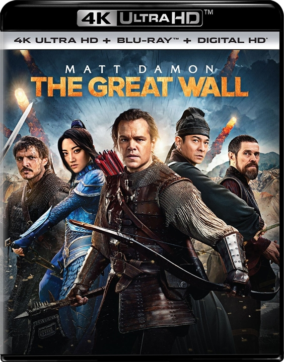 The Great Wall 4K (2016) Ultra HD Blu-ray