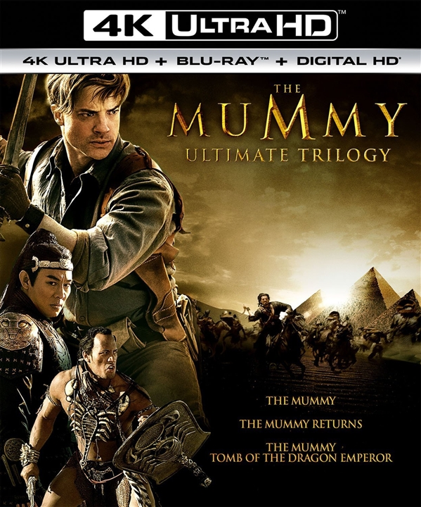 The Mummy Ultimate Trilogy 4K (1999-2008) 4K Ultra HD Blu-ray