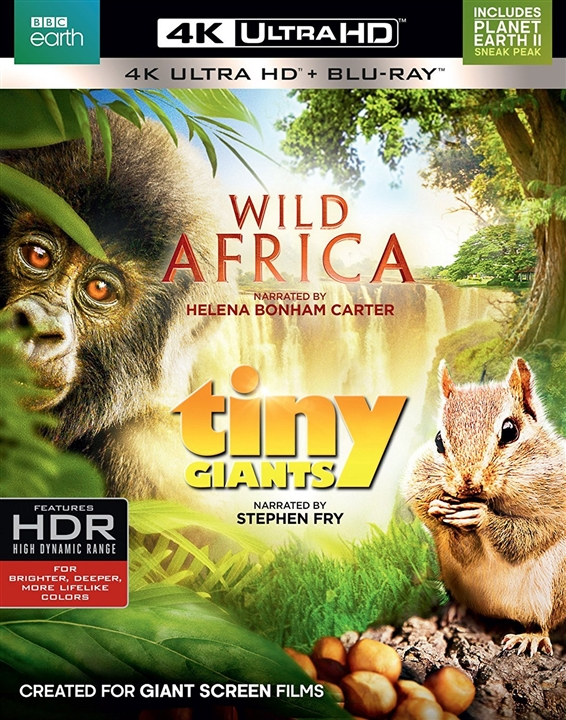 Wild Africa / Tiny Giants 4K (2014-2015) Ultra HD Blu-ray
