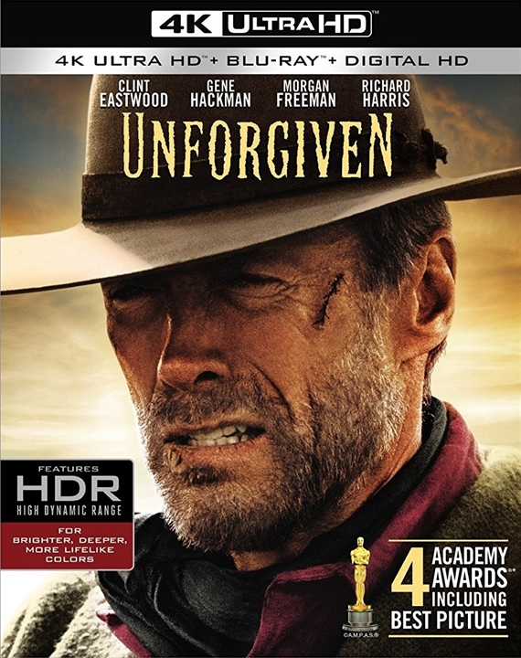 Unforgiven 4K (1992) UHD Ultra HD Blu-ray