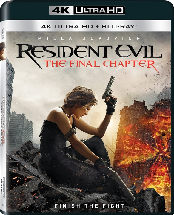 Resident Evil: The Final Chapter 4K + 3D (2016) 4K Ultra HD Blu-ray
