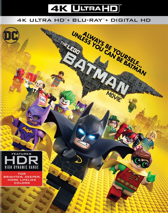 The LEGO Batman Movie 4K (2017) Ultra HD Blu-ray