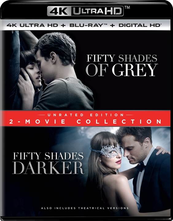 Fifty Shades: 2-Movie Collection 4K (2015-2017) UHD Ultra HD Blu-ray