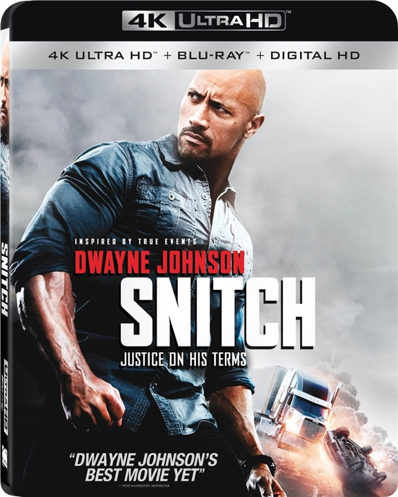 Snitch 4K (2013) UHD Ultra HD Blu-ray