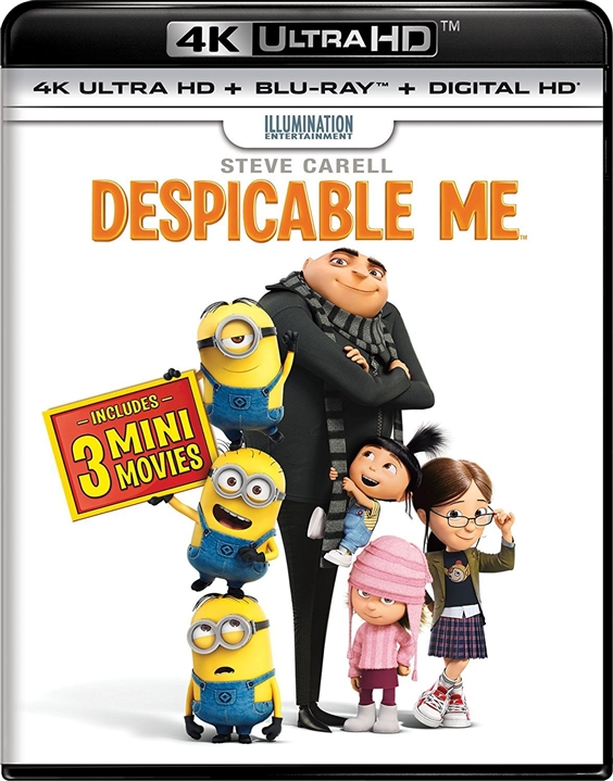 Despicable Me 4K (2010) UHD Ultra HD Blu-ray