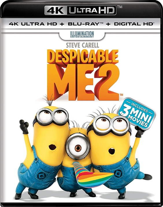 Despicable Me 2 4K (2013) UHD Ultra HD Blu-ray