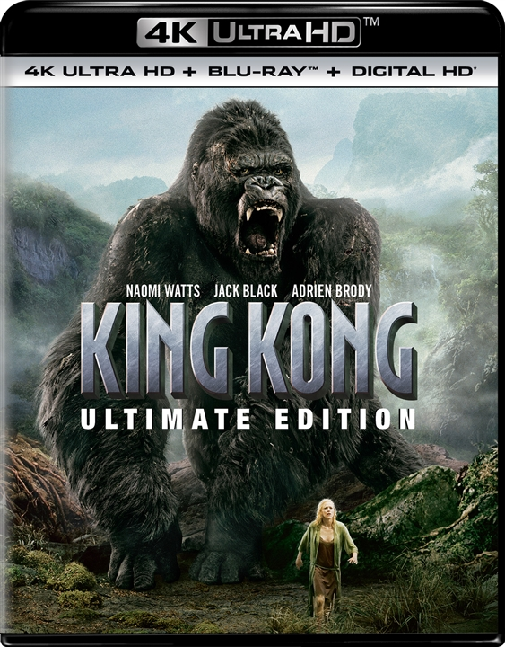 King Kong (Ultimate Edition)(2005) 4K Ultra HD Blu-ray