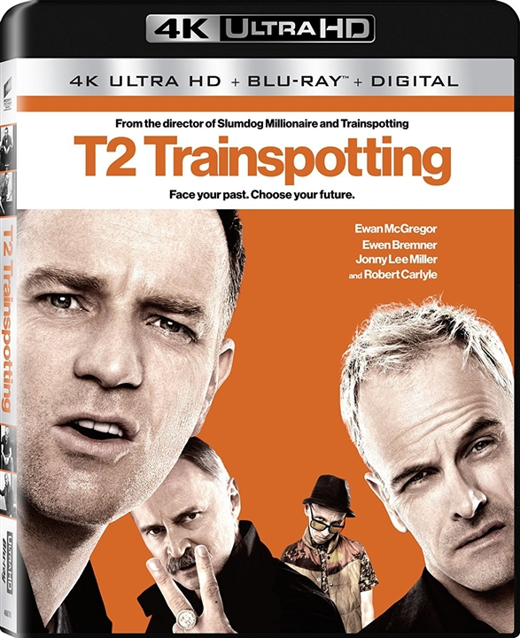 T2: Trainspotting 4K (2017) UHD Ultra HD Blu-ray