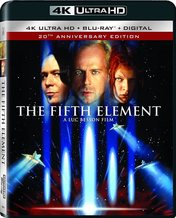 The Fifth Element 4K (1997) UHD Ultra HD Blu-ray