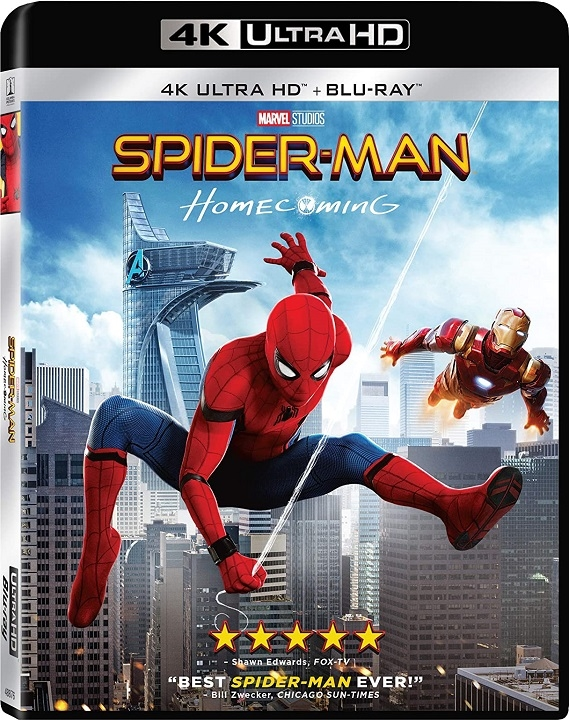 Spider-Man: Homecoming (2017) 4K Ultra HD Blu-ray