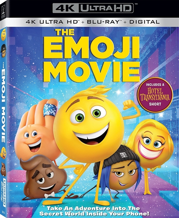 The Emoji Movie (2017) 4K Ultra HD Blu-ray