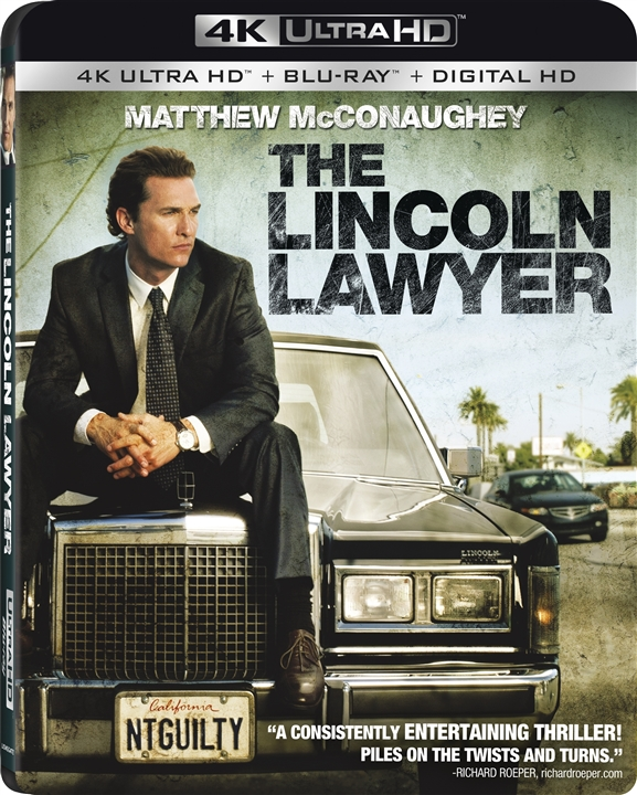 The Lincoln Lawyer 4K (2011) UHD Ultra HD Blu-ray