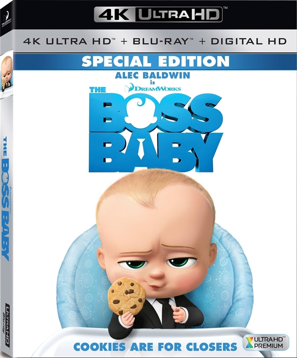 The Boss Baby 4K (2017) UHD Ultra HD Blu-ray