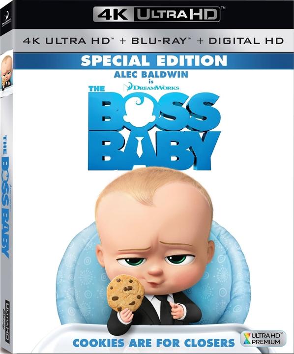 The Boss Baby 4K (2017) UHD Ultra HD Blu-ray