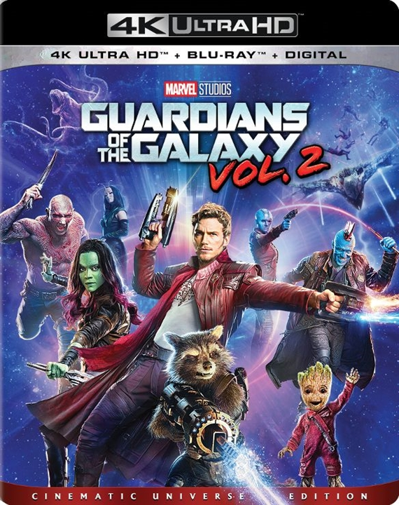 Guardians of the Galaxy Vol 2 (2017) 4K Ultra HD Blu-ray