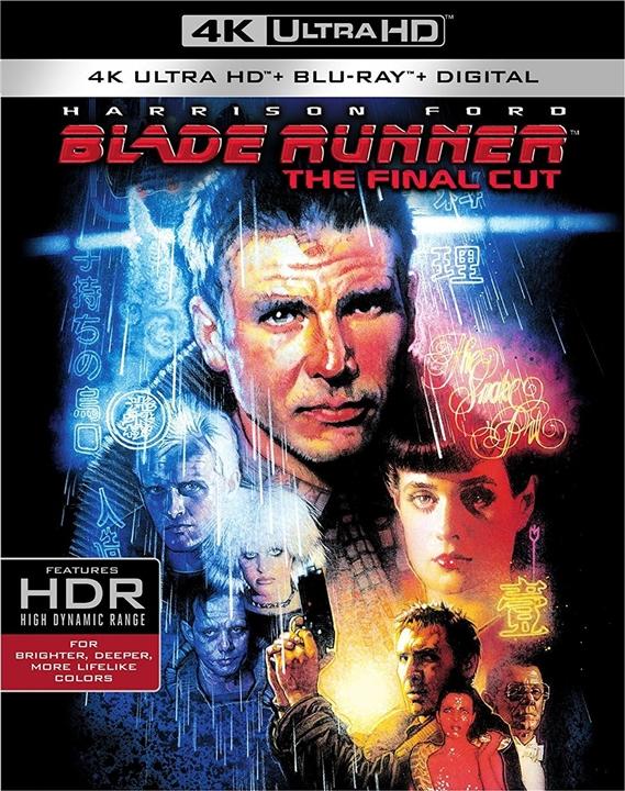 Blade Runner 4K (1982) 4K Ultra HD Blu-ray