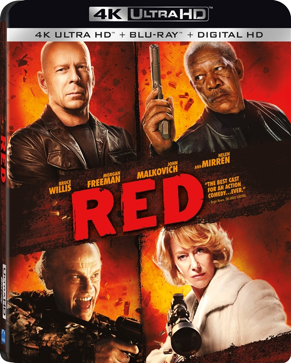 RED (2010) 4K Ultra HD Blu-ray