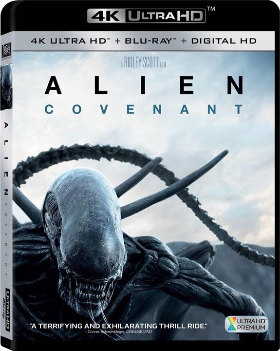 Alien: Covenant 4K (2017) Ultra HD UHD Blu-ray
