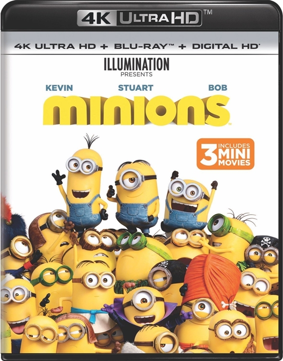Minions 4K (2015) UHD Ultra HD Blu-ray