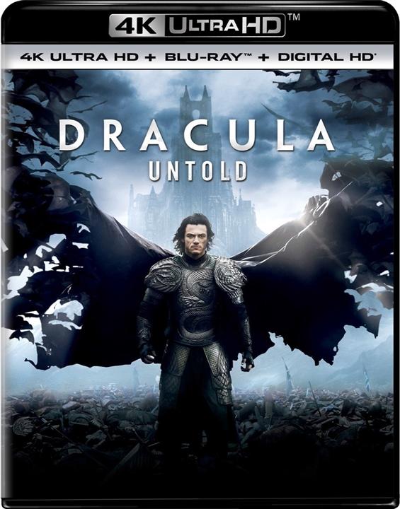 Dracula Untold 4K (2014) UHD Ultra HD Blu-ray