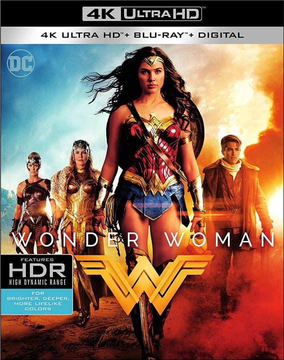 Wonder Woman 4K (2017) 4K Ultra HD Blu-ray