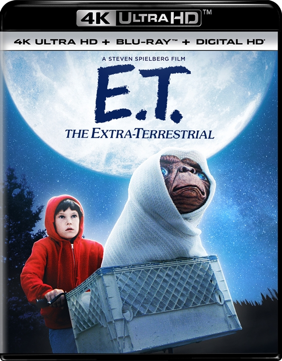 E.T.: The Extra-Terrestrial 4K (1982) Ultra HD Blu-ray