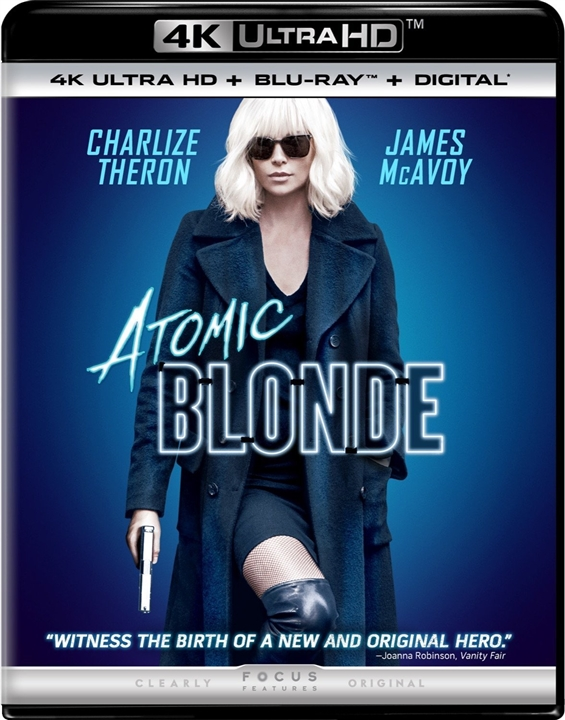 Atomic Blonde 4K (2017) Ultra HD Blu-ray