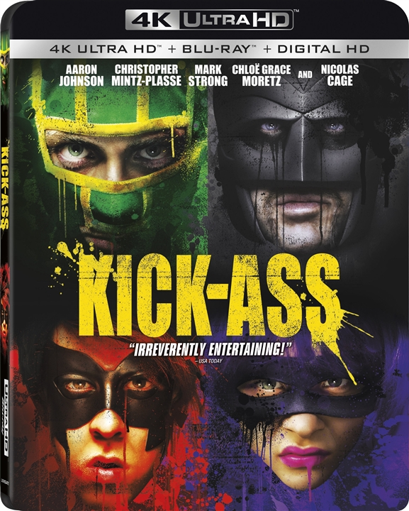 Kick-Ass 4K (2010) Ultra HD Blu-ray