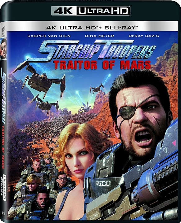 Starship Troopers: Traitor of Mars 4K (2017) Ultra HD Blu-ray