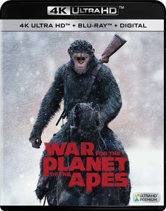 War for the Planet of the Apes 4K (2017) Ultra HD Blu-ray