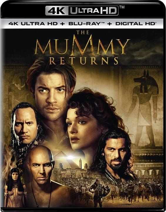 The Mummy Returns 4K (2001) Ultra HD Blu-ray