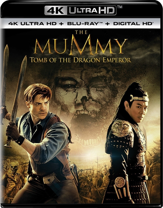 The Mummy: Tomb of the Dragon Emperor 4K (2008) UHD Ultra HD Blu-ray