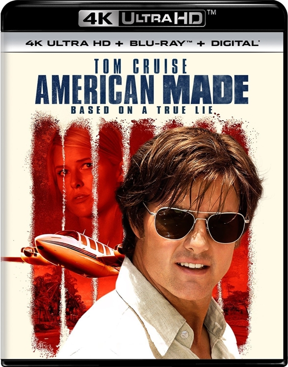 American Made 4K (2017) Ultra HD Blu-ray