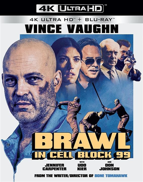Brawl in Cell Block 99 (2017) UHD Ultra HD Blu-ray