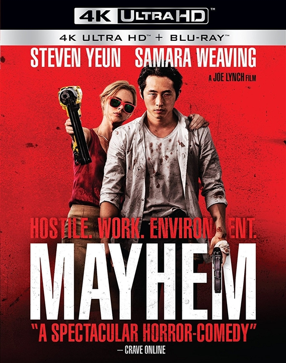 Mayhem 4K (2017) UHD Ultra HD Blu-ray