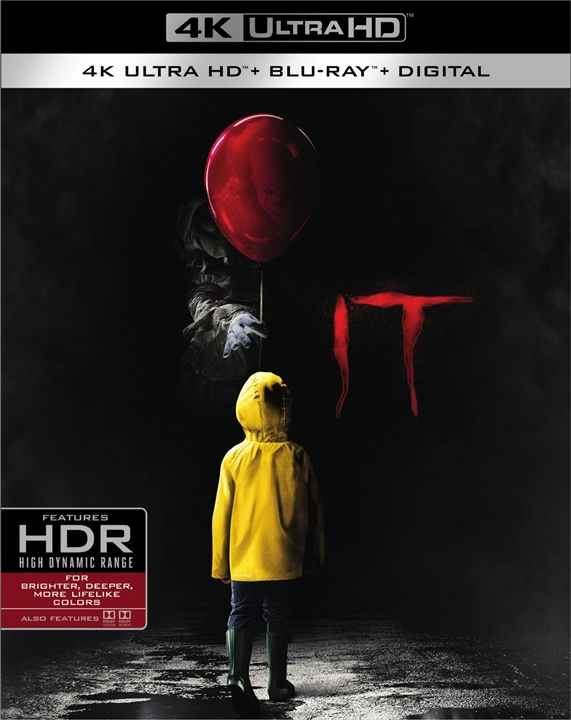 IT 4K (2017) Ultra HD Blu-ray
