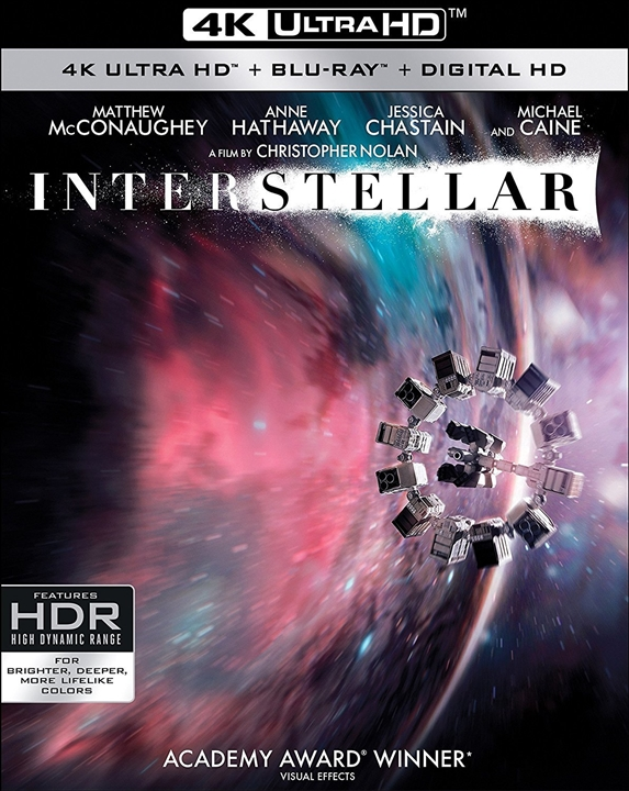 Interstellar 4K (2014) UHD Ultra HD Blu-ray