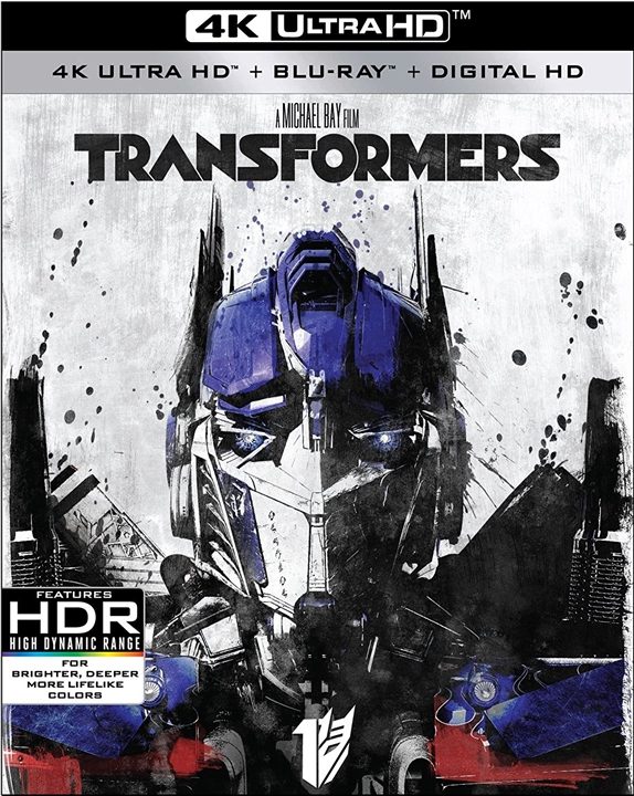 Transformers 4K (2007) UHD Ultra HD Blu-ray