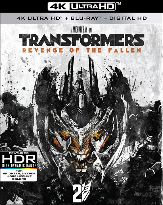 Transformers: Revenge of the Fallen 4K (2009) UHD Ultra HD Blu-ray