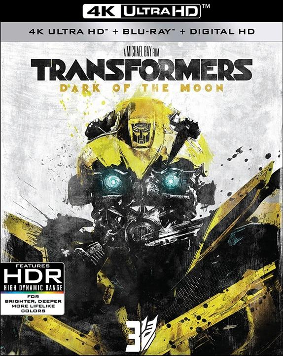 Transformers: Dark of the Moon 4K (2011) UHD Ultra HD Blu-ray